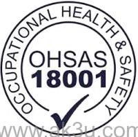 OHSAS 18001:2007 Dual Language Indonesia English